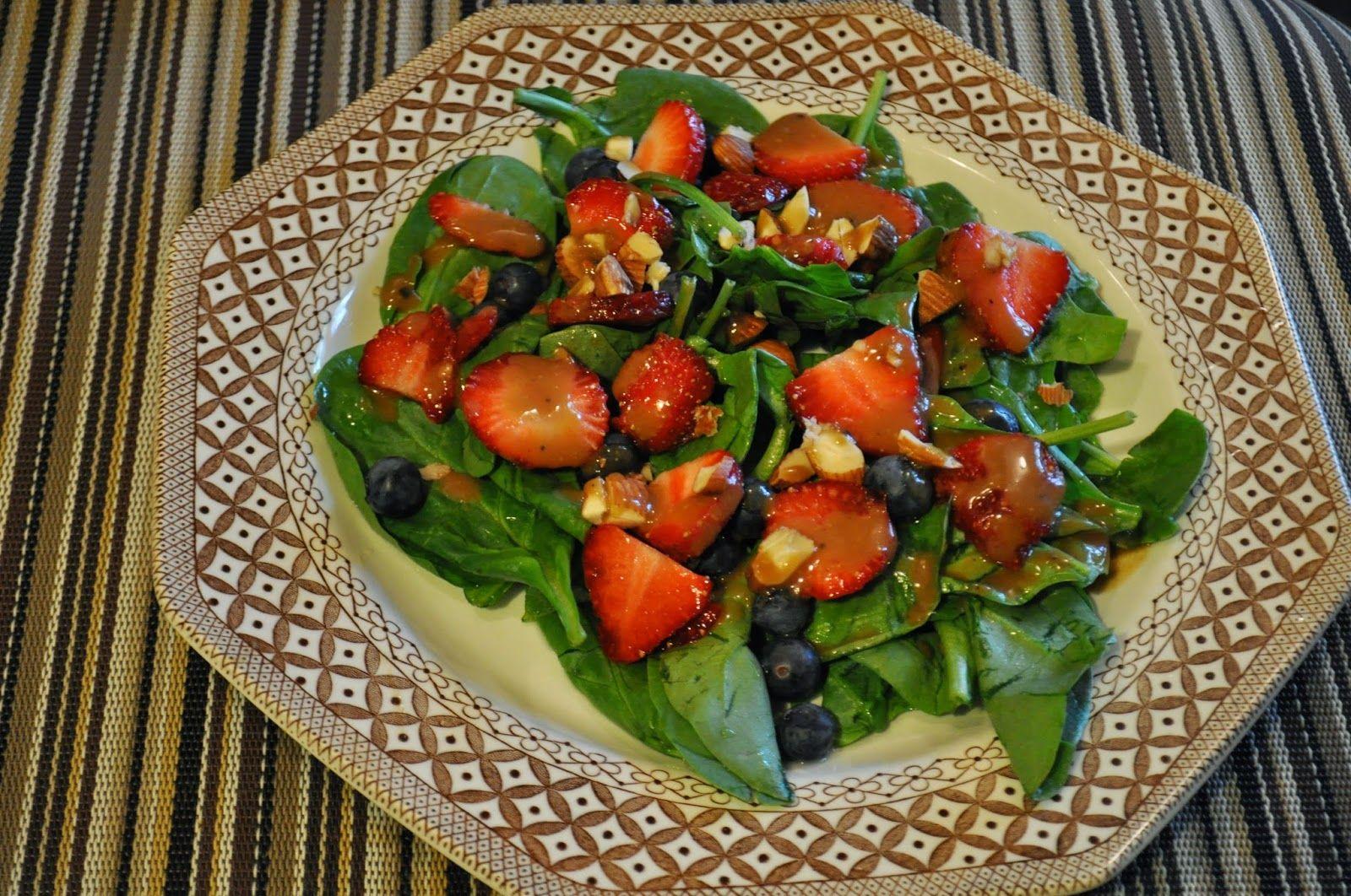 Very Berry Salad with Dijon Balsamic Vinaigrette