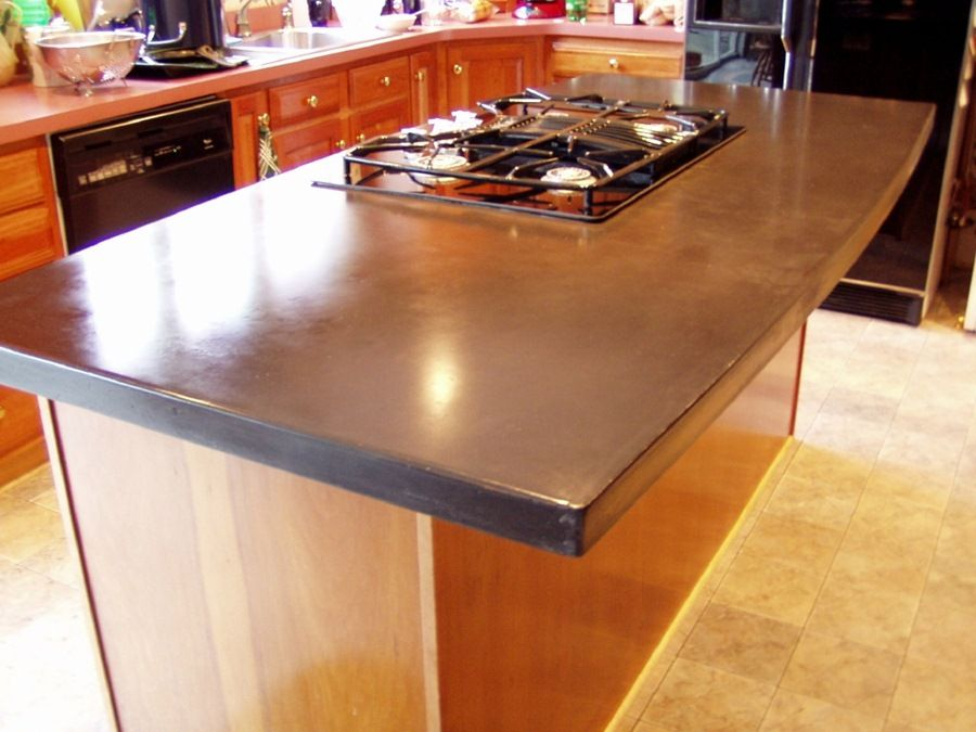 Concrete Countertop Kitchen
