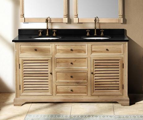 27++ Natural wood double sink bathroom vanity best
