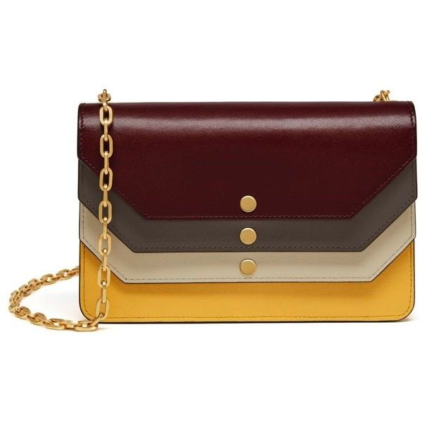 Mulberry Multiflap Clutch ( 740) ❤ liked on Polyvore featuring bags ... fd57076392cde
