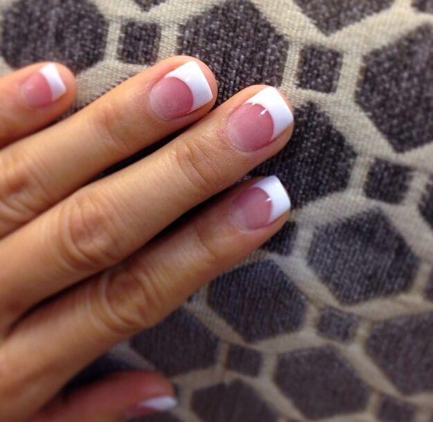 4fe2cec22b4afd0a47b5d998f57b68ed Jpg 626 610 White Tip Acrylic Nails White Tip Nails French Acrylic Nails