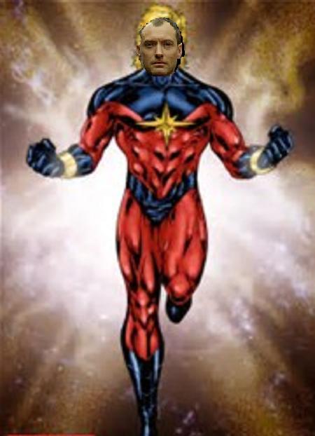 captain marvel male