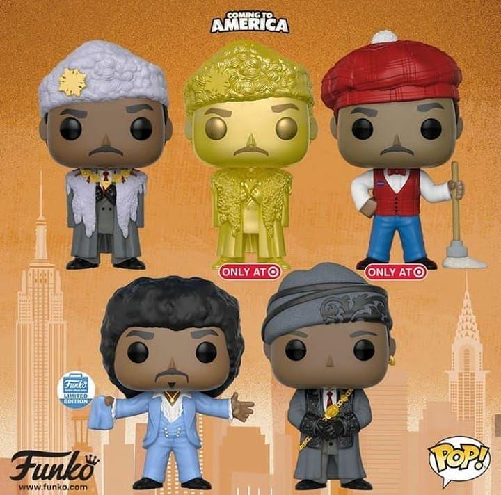 FunKo Free Shipping! Vinyl Coming to America Prince Akeem Pop