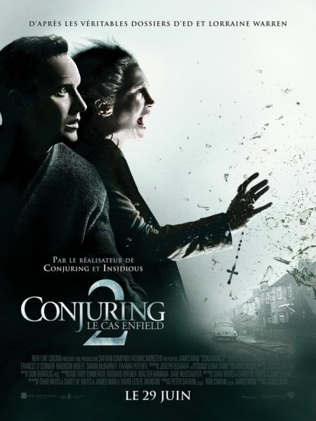 The Conjuring 2 Movie French Poster And Audio Recordings The Conjuring Full Movies Online Free Movie Posters