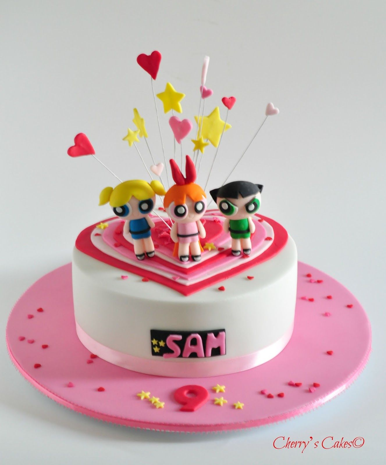 powerpuff girls cake cherry s cakes the powerpuff chicas 6741