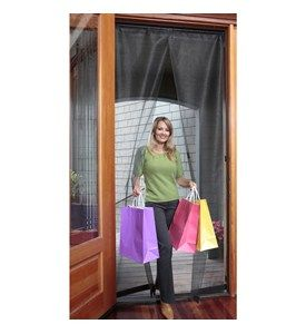High Quality Magnetic Screen Door   32 X 96 Inch Image