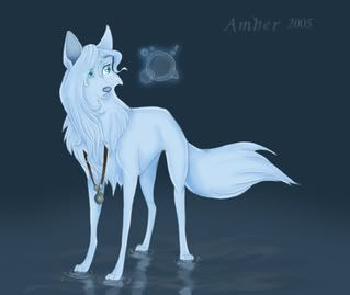 Female Anime Wolves In Water