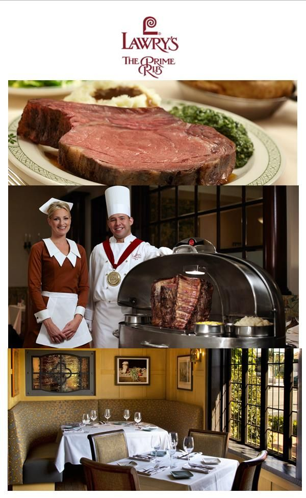 Lawry S The Prime Rib Is An Internationally Renowned Fine Dining Restaurant Specializing In Prime Rib Restaurant Menu Design Fine Dining Restaurant Restaurant