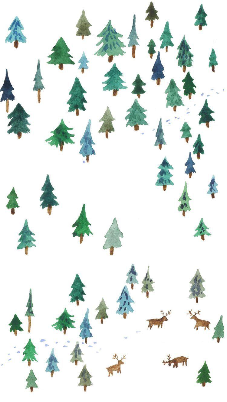 christmas tree wallpaper #decembrefondecran