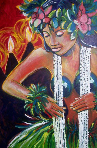 Hawaii Artist: Stephanie Bolton - Hawaiian Expressions | people ...
