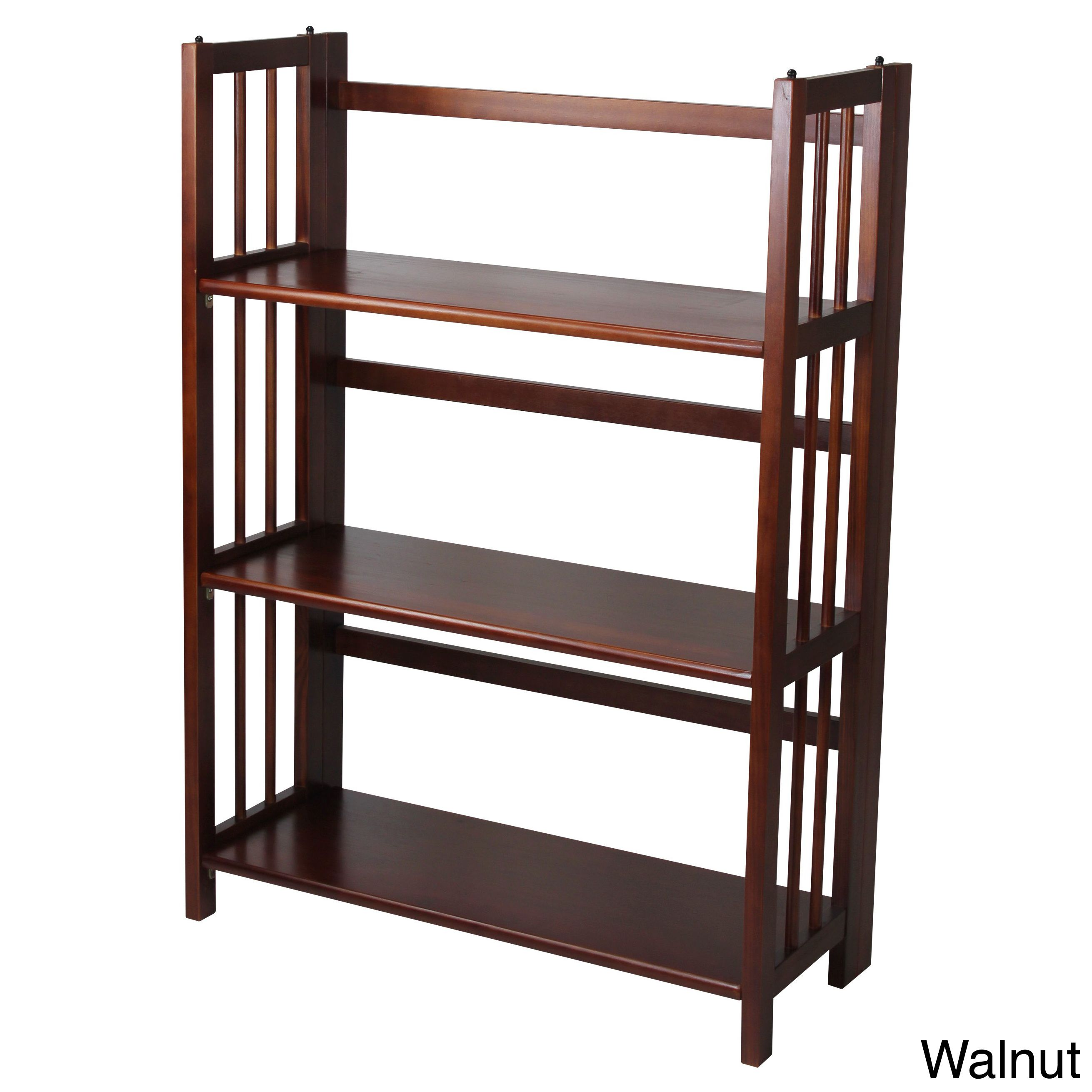 barritt today double antique home garden product overstock bookcases bookcase nutmeg wide industrial shipping free