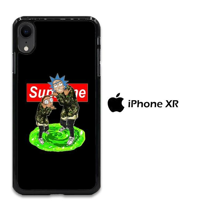 Rick And Morty Supreme Iphone Xr