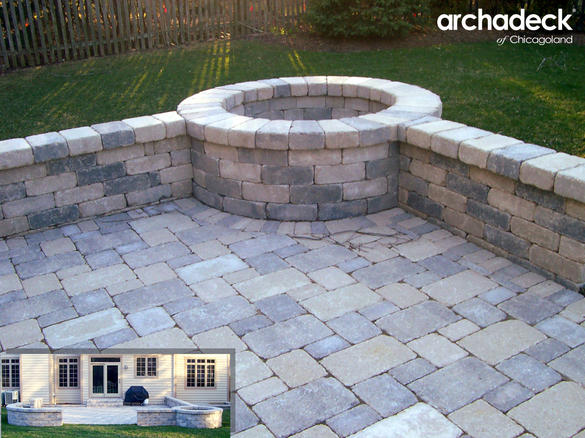 Perfect Patios U0026 Fire Pits U2013 Outdoor Living With Archadeck Of Chicagoland