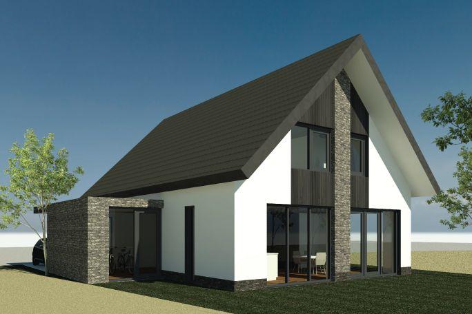 Nieuwbouwwoning bornsche maten ontwerp van al for Nieuw huis bouwen