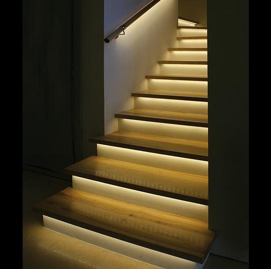 Tiras led automticas y secuenciales con starisled casas tiras led automticas y secuenciales con starisled escaleras fandeluxe Images