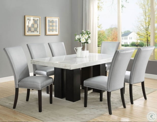 Camila Espresso Rectangle Dining Room Set In 2021 Luxury Dining Room Unique Dining Room Table Dining Room Small