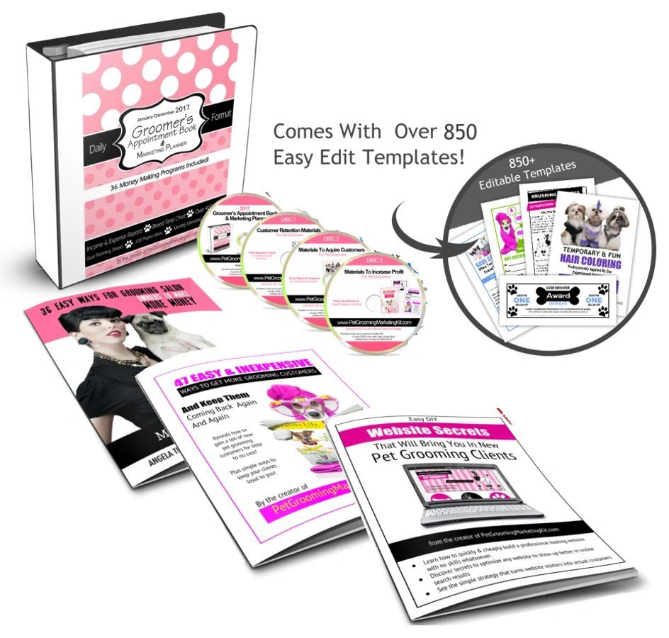 The Groomers Profit Kit Purchase Kit, Pricing The