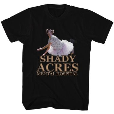 Ace Ventura Pet Detective Shady Acres Mental Hospital Adult T Shirt Funny Movie