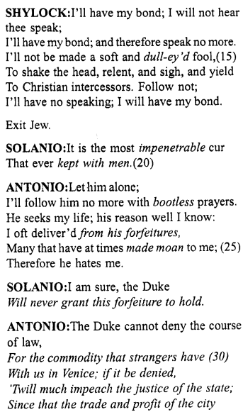 Merchant Of Venice Act 3 Scene Translation Meaning Annotation 1 Http Www Aplustopper Com S Meant To Be Acting English Reading Paraphrase Pdf Download