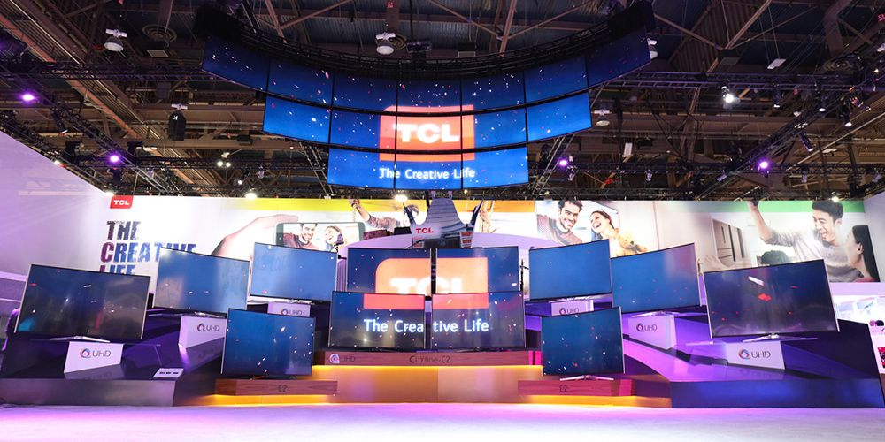 TCL unveils new QUHD family of products for most immersive