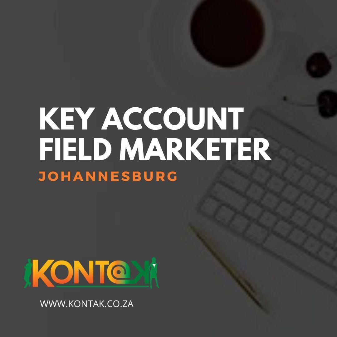 Key Accounts External Marketer (JB162) Johannesburg R13000