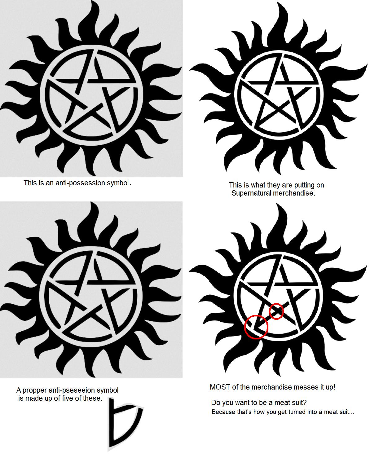 supernatural insignia Google Search Supernatural
