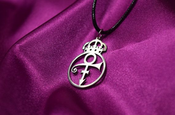 Prince Rogers Nelson Symbol Necklace Jewerlypersonalized