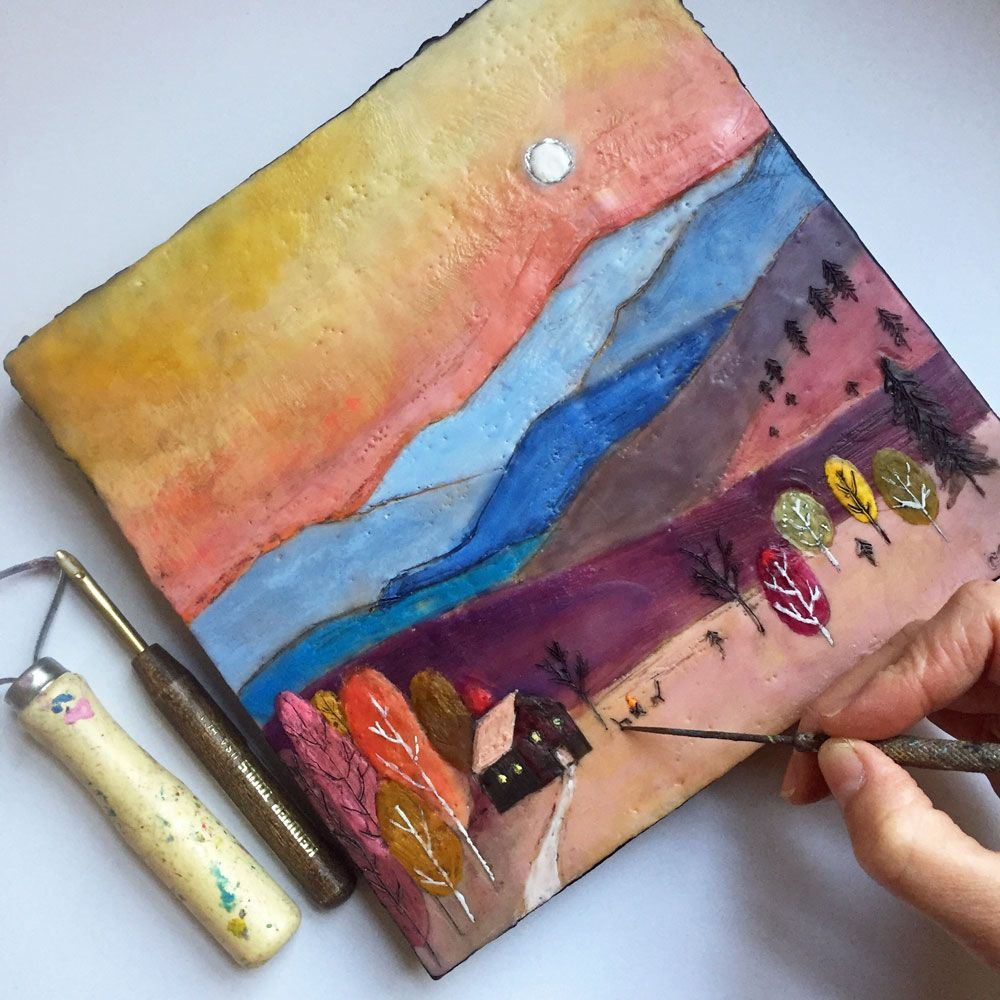 10 Helpful Tips for Encaustic Painting from Cathy Nichols