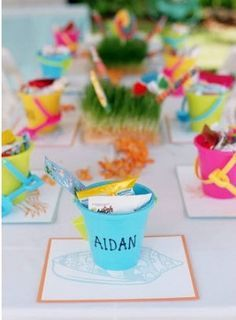 KIDS BEACH PARTY IDEAS