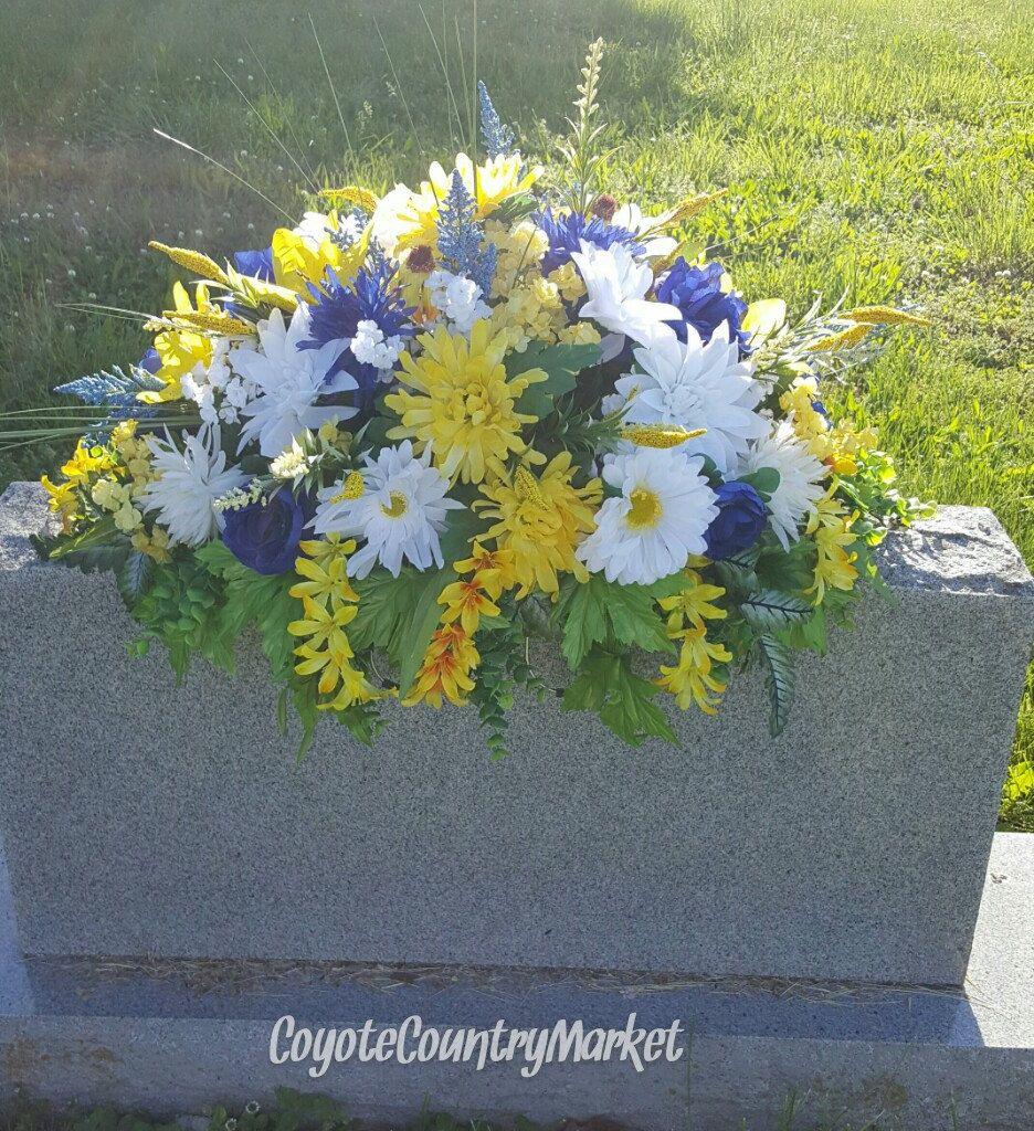 Headstone Flowers Topper