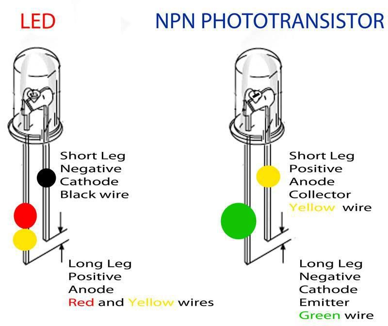 npn photo transistor knowledge electronic engineering. Black Bedroom Furniture Sets. Home Design Ideas