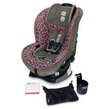 Britax Marathon Xe G4 Convertible Car Seat In Pink Giraffe Buybuybaby Com 299 Car Seats Pink Giraffe Baby Car Seats