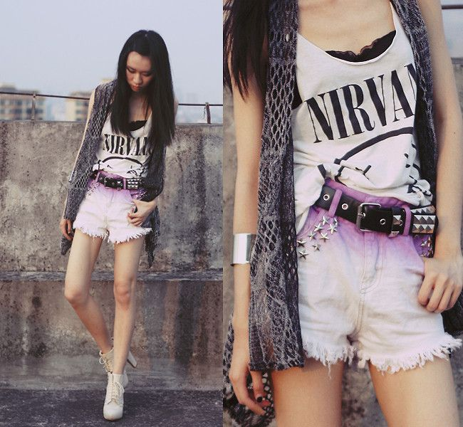 http://lookbook.nu/look/3935708-hallucination  romwe.com shorts  #romwe