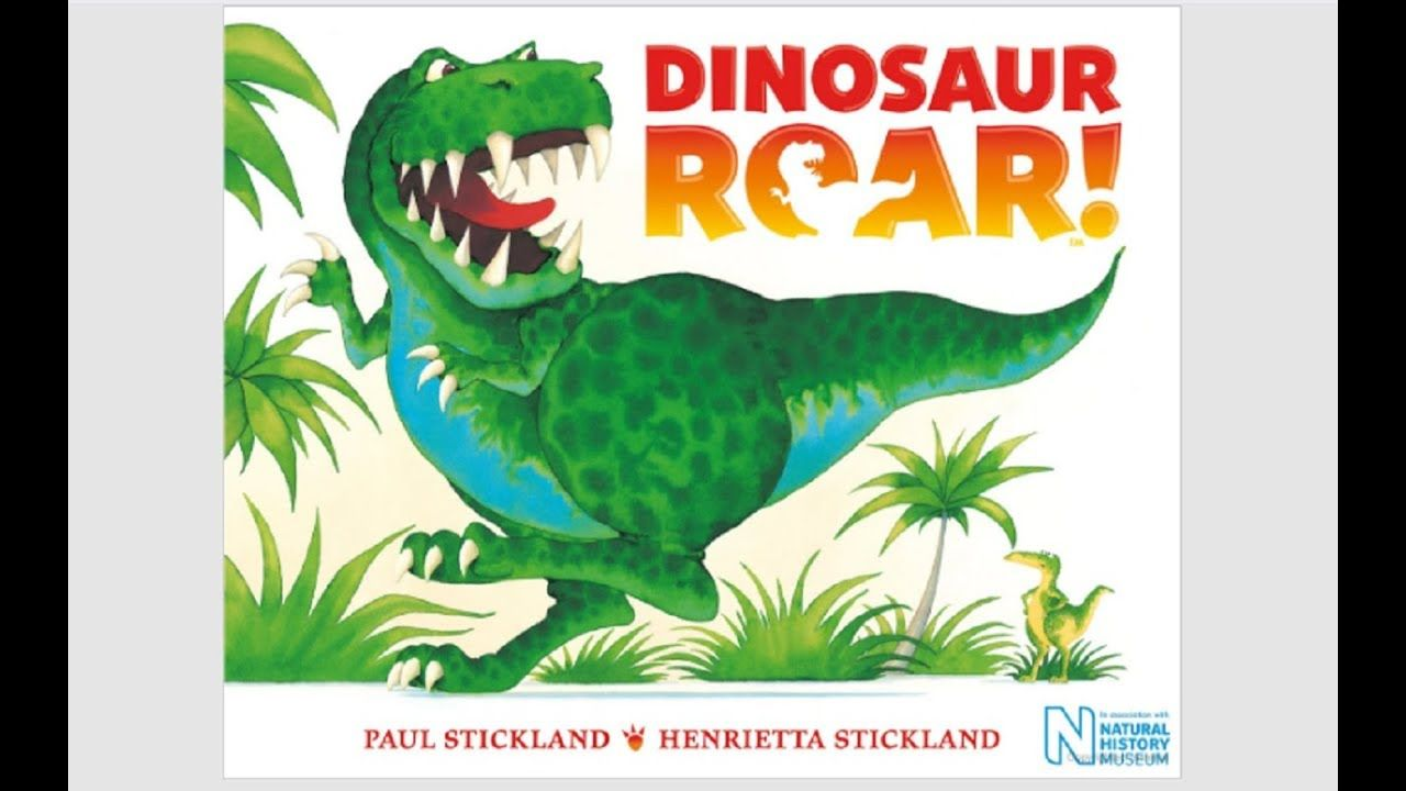 Dinosaur roar by paul and henrietta stickland book read