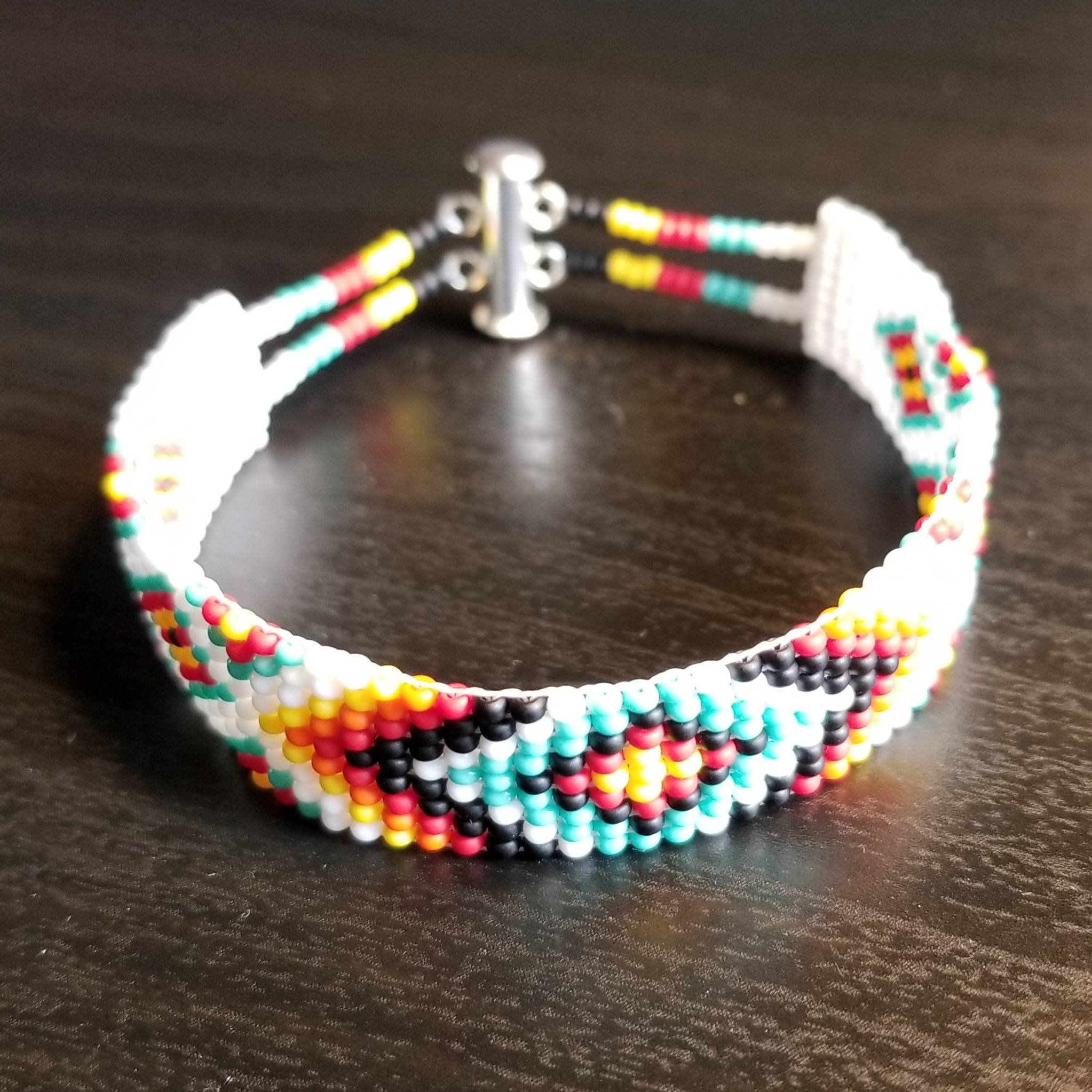 Indian Beading Loom Friendship Bracelet Necklace American Making Easy Kit Gift