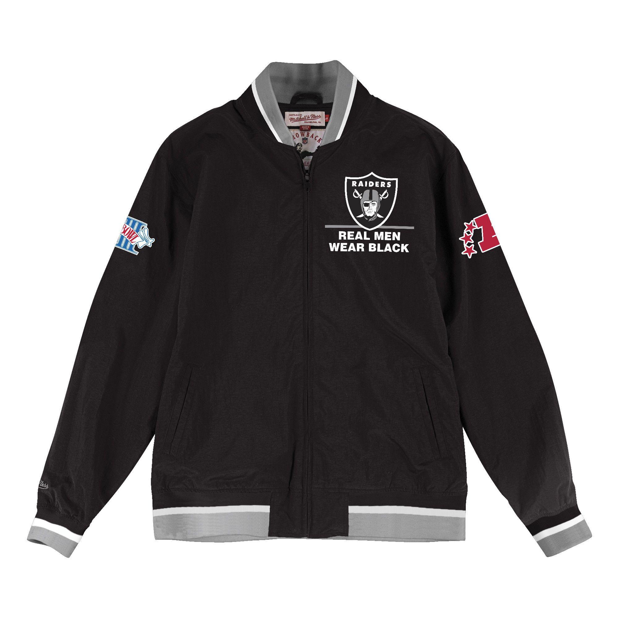 No Short Desc Oakland Raiders Warmup Jacket Jackets [ 2000 x 2000 Pixel ]