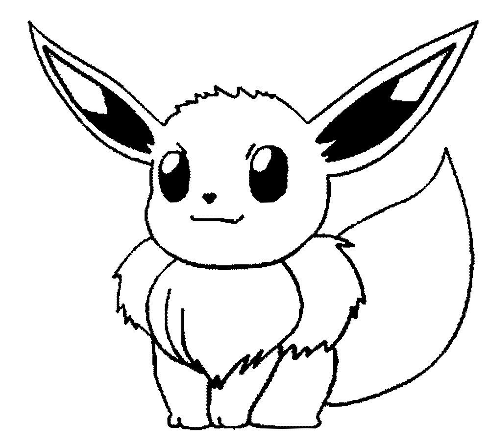 E Is For Evee Pokemon Coloring Pokemon Coloring Pages Pokemon