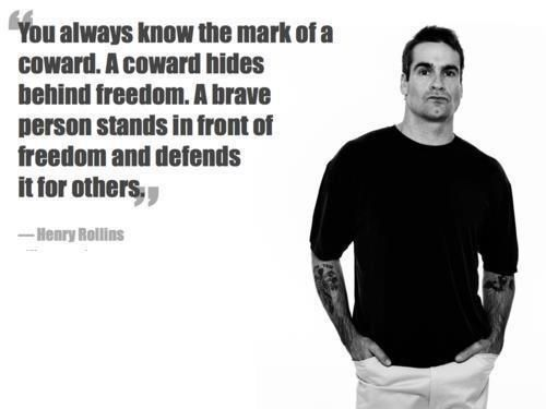 Henry Rollins Quotes Classy Henry Rollins How Could You Not Love Him  Music  Pinterest