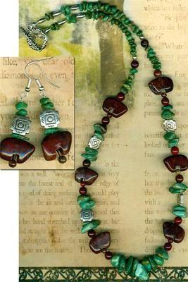 "Southwest Zuni Bear Fetish Necklace Red Creek Jasper Turquoise Silver Beads 22""   eBay"