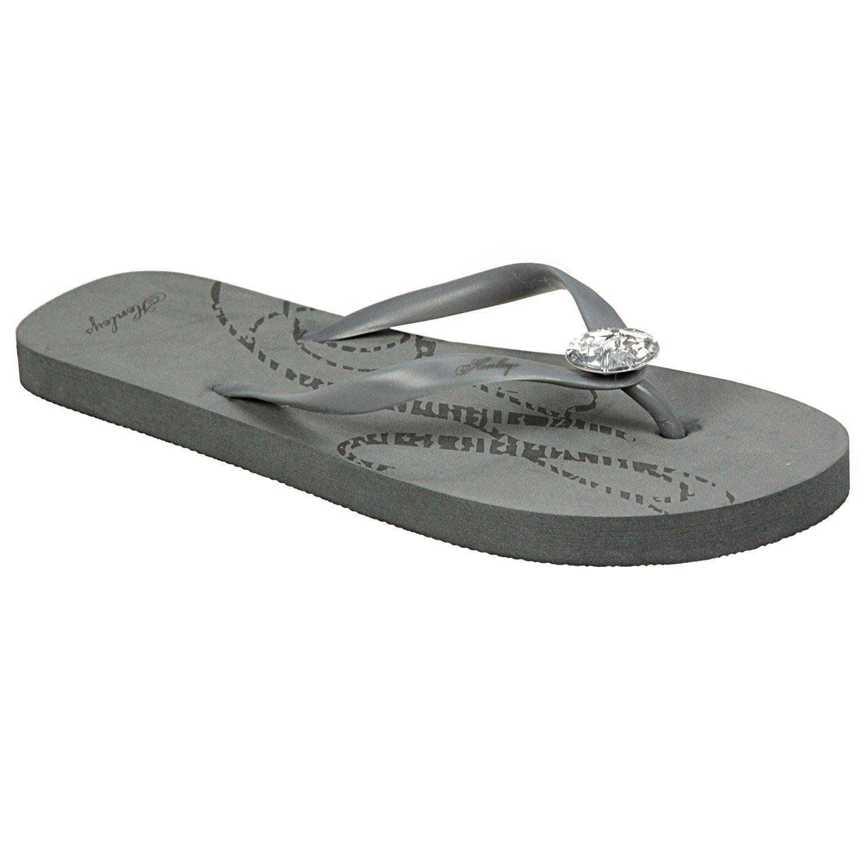 Yew Ladies Beige Flip Flops Sizes 4 5 6 7 8 Henleys c040fI6KPc