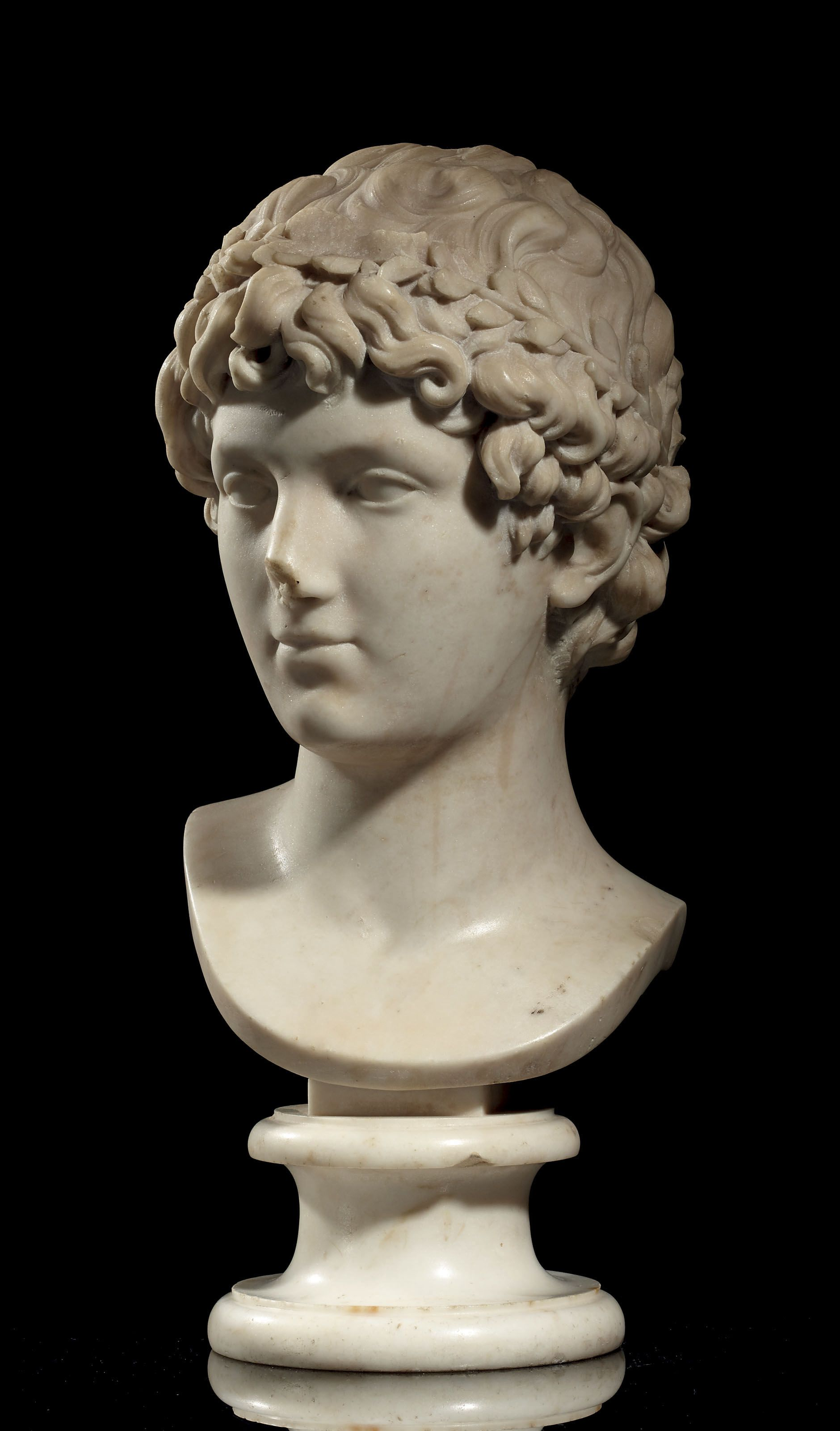 By Jean Antoine Houdon 1741 1828 Dated 1775 A Marble Bust Of A Roman Youth Late 18th Century Mid 18t Marble Bust European Sculpture Museum Of Fine Arts