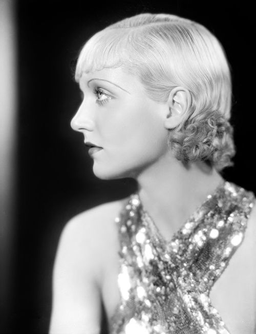 Carole Lombard, 1933, publicity photo by Otto Dyar for The Eagle and the Hawk
