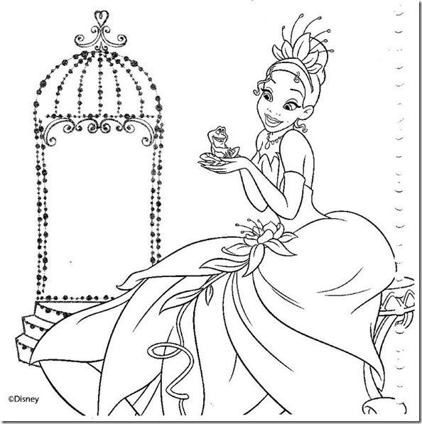 17 desenhos das princesas disney para colorir ou pintar | Pinterest ...