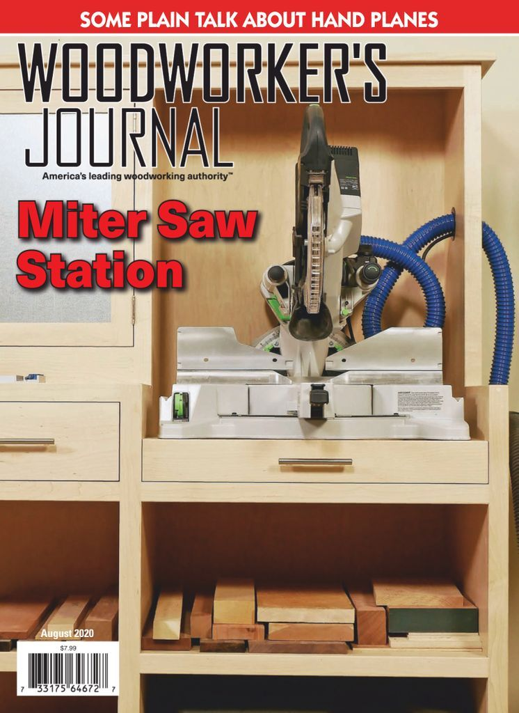 Woodworker S Journal Magazine Subscription In 2020 Mitre Saw Station Woodworking Woodworking Jigsaw