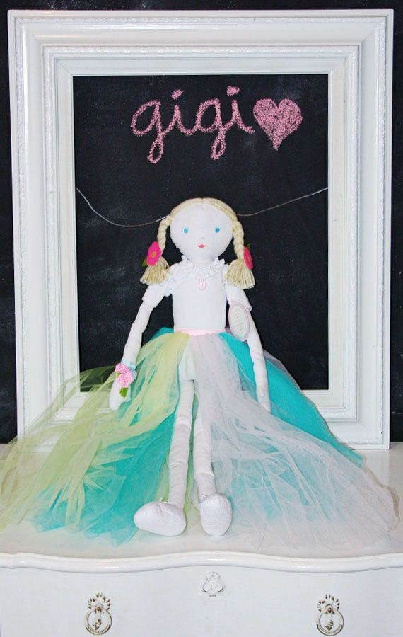 Designer Doll City Girl Gigi Pottery Barn Kids