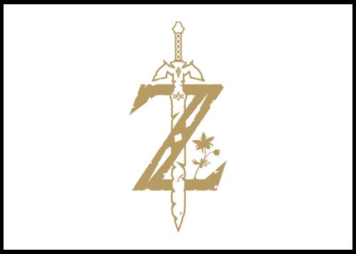 Logo de The Legend of Zelda  Breath of the Wild
