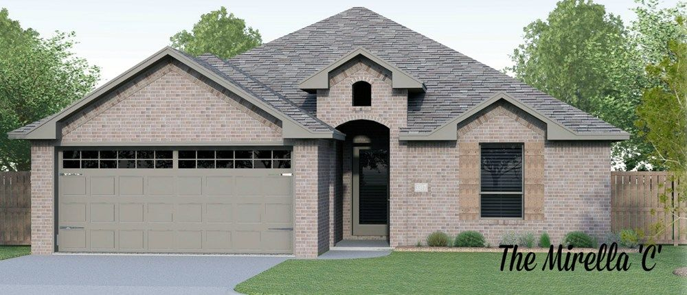 The Mirella Home Plan By Permian Homes In Enclave At Mission New Homes Model Homes Home