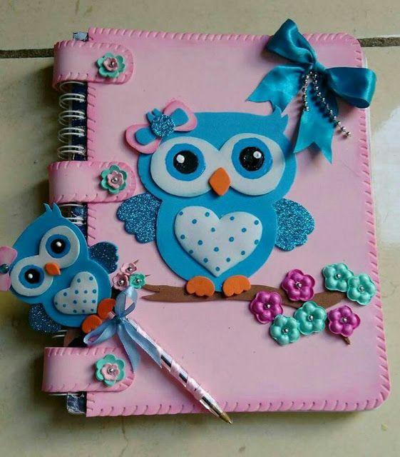 M s y m s manualidades muchas ideas para forrar cuadernos - Hacer trabajos en casa boligrafos ...