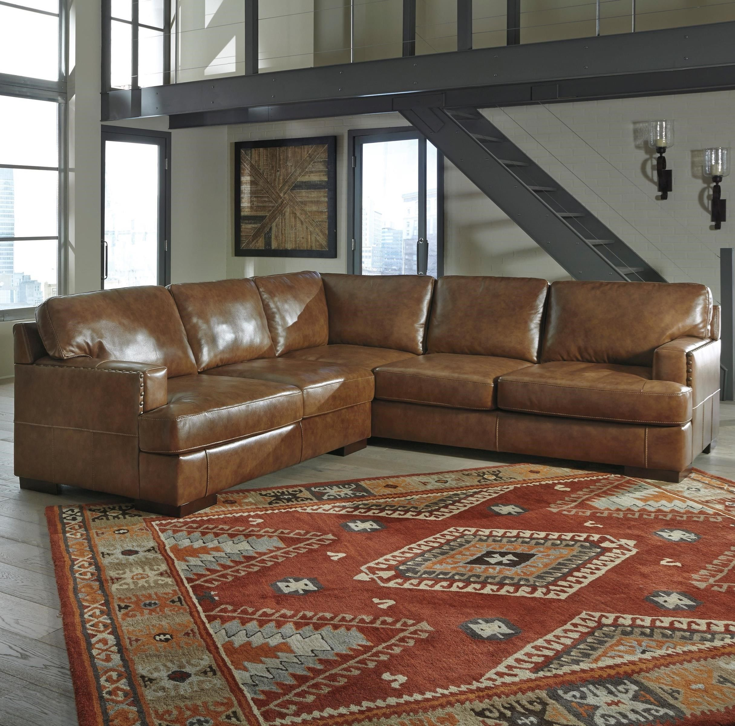 Miraculous Vincenzo 2 Piece Sectional By Signature Design By Ashley Pabps2019 Chair Design Images Pabps2019Com