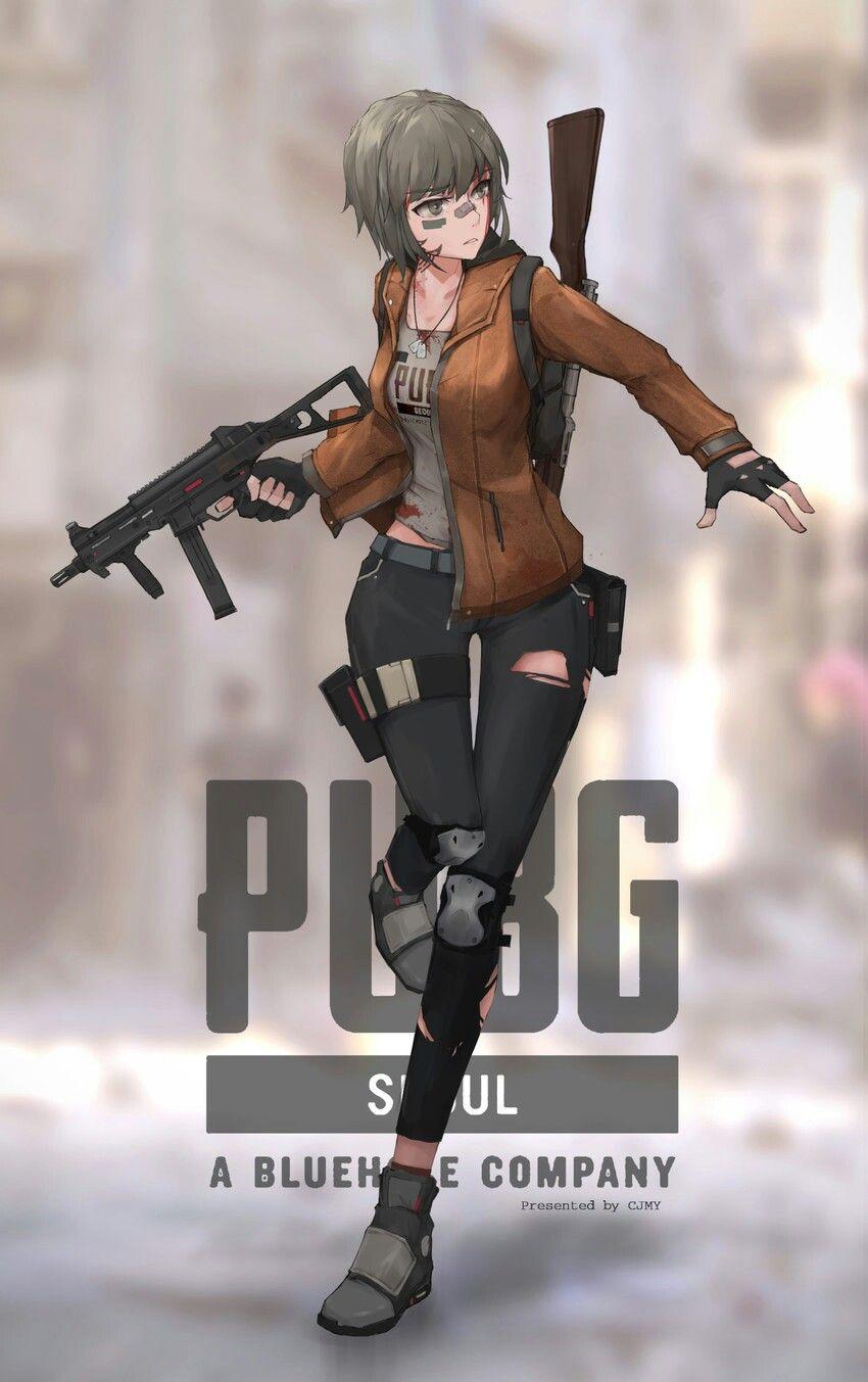 Thai o g pubg player unknown 39 s battlegrounds anime - Anime girl wallpaper for mobile ...